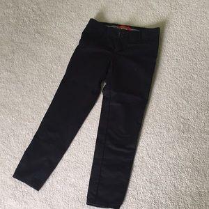Anthropologie Black cropped pants